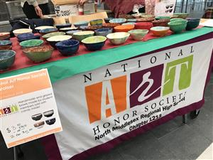 National Art Honor Society Empty Bowls