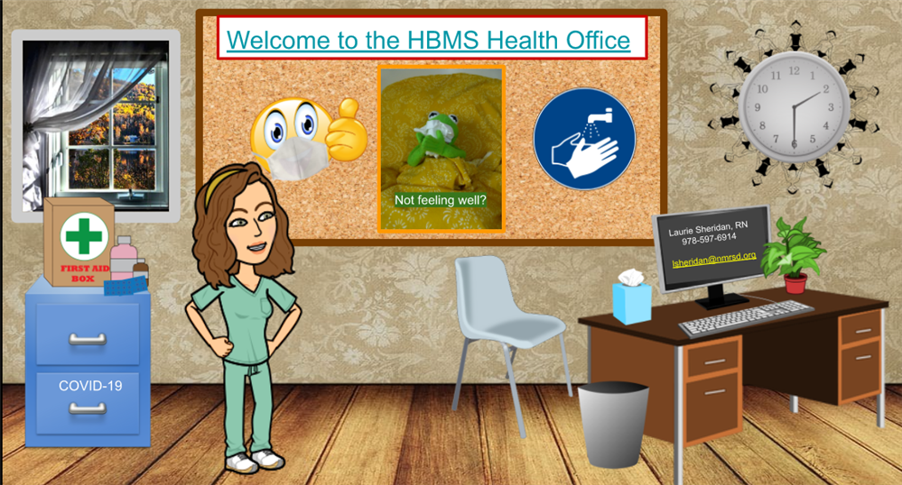 Check out the New HBMS Virtual Health Office